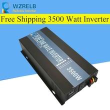 Reliable Peak 3500W Pure Sine Wave OFF Grid Inverter DC12V/24V to AC220V Power Inverter Converter Houseuse Solar System
