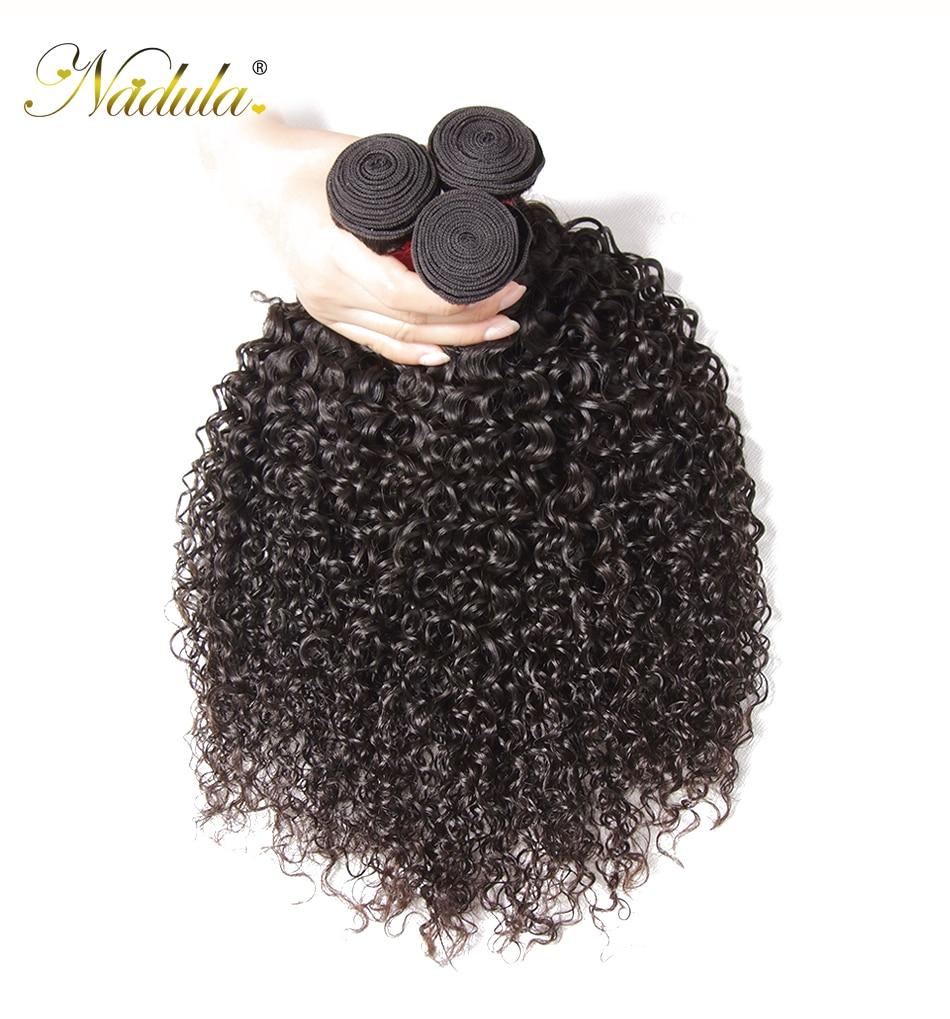 HTB1QOGla6zuK1RjSspeq6ziHVXam Nadula Hair Brazilian Curly Bundles With Closure 4*4 Lace Closure Remy Human Hair Bundles With Closure 3 Bundles With Closure