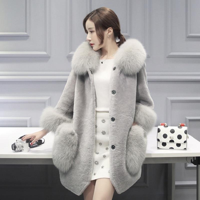New winter women's jacket High imitation fur overcoats maternity winter clothing pregnancy jacket warm clothing 16963