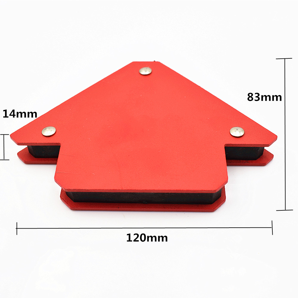 1pcs Multi angle magnetic welding tool welding holder suction iron magnet Neodymium Magnetic Clamp 25BLS 12kg
