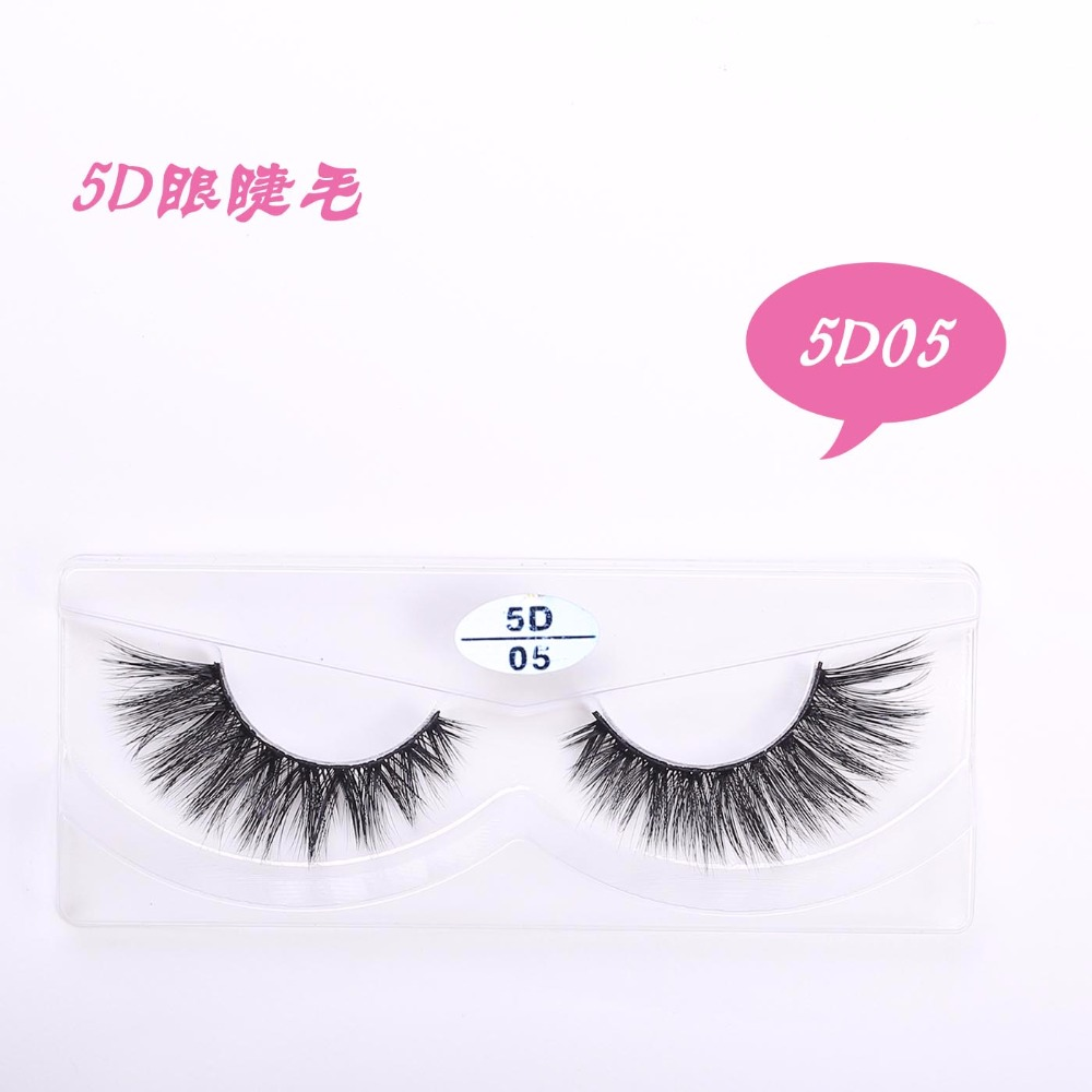 2018 3D Mink Lashes 5D Mink Eyelashes Invisible Band ...