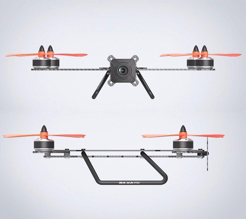 centro de placa pcb fpv quadcopter kit quadro para corridas 02