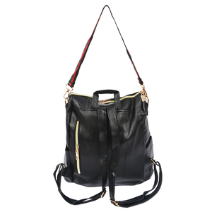 Image 4 - ผู้หญิงแฟชั่นStreet Solidกันน้ำซิปกระเป๋าสะพายกระเป๋าเป้สะพายหลังผู้หญิงหญิงCasual Travelกระเป๋าเป้สะพายหลังหนังPU