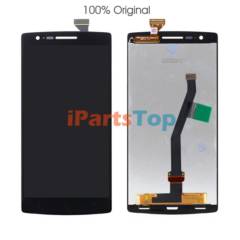 100% AAA Black LCD Screen Display With Touch Digitizer Assembly For OnePlus One One+ Tested Shipped BY DHL EMS банкетка велюр бирюзовый 75 х 40 х 40 см