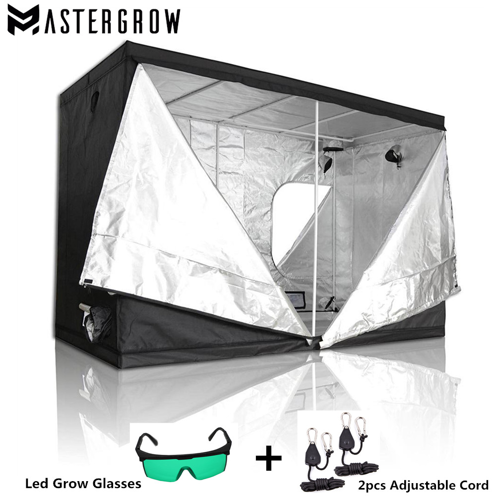 MasterGrow Indoor Hydroponics Grow Tent Grow Room Box Plant Growing Reflective Mylar Non Toxic Garden Greenhouses