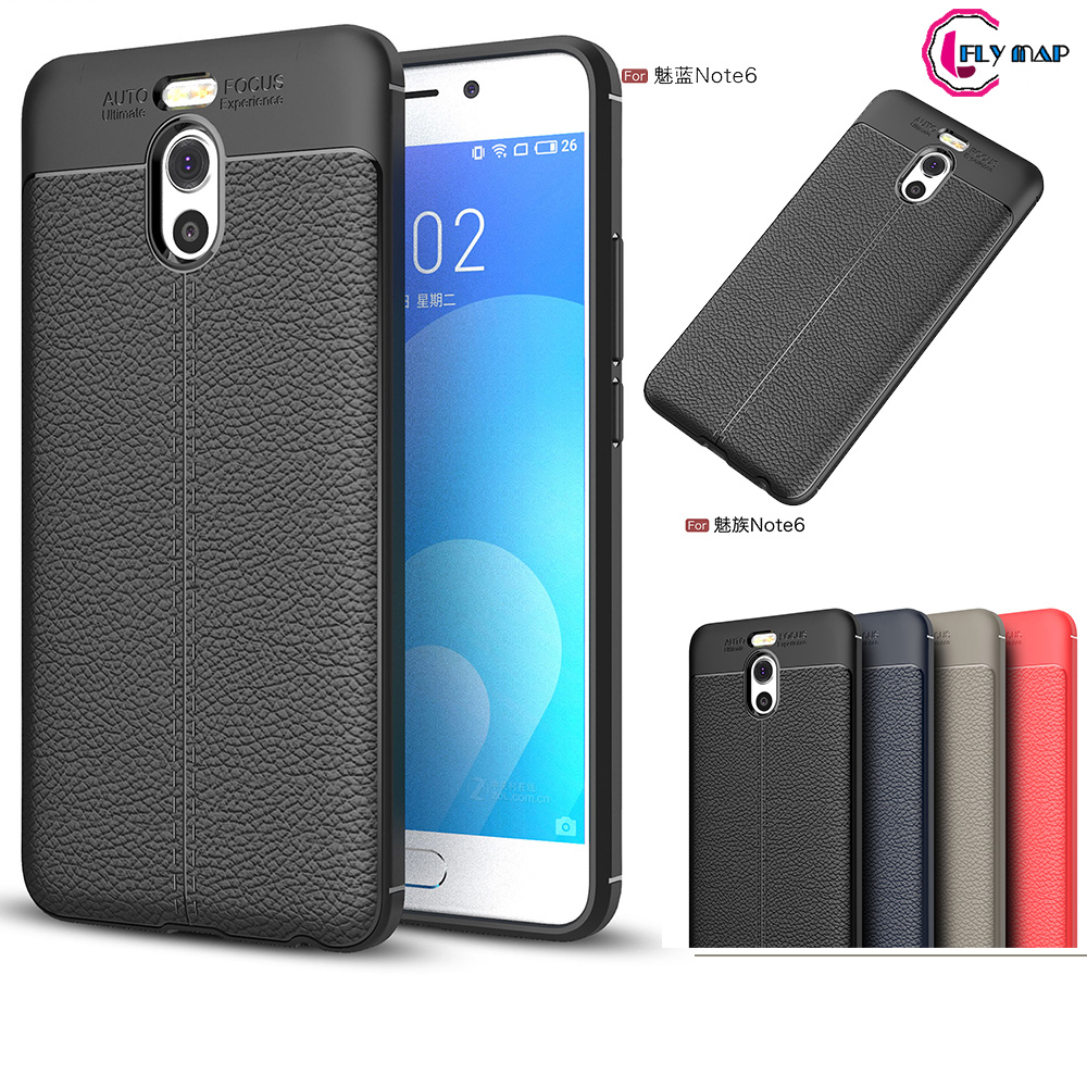 Fitted Case for <font><b>Meizu</b></font> <font><b>m6</b></font> <font><b>note</b></font> M721C <font><b>M721L</b></font> M721M M721Q PU Silicone Case Soft TPU Phone Cover for <font><b>MeiZu</b></font> Meilan <font><b>Note</b></font> 6 M721 Couqe image