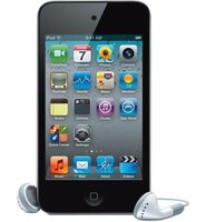 AppleApp MP4 Player iPod Touch 8GB (4th Generation) with Screen Protector