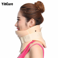 YihCare Cervical Collar Neck Brace Therapy Neck Massager Posture Brace Correct Neck Torticollis Corrector Device Pain Relief