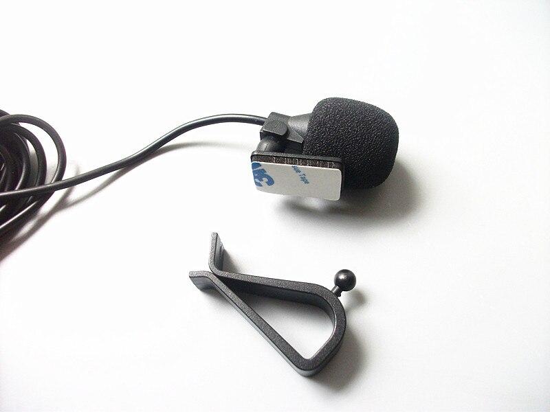 Linhuipad berwayar Mikrofon Kereta Luar untuk Pemain DVD Kereta GPS - Audio dan video mudah alih - Foto 4