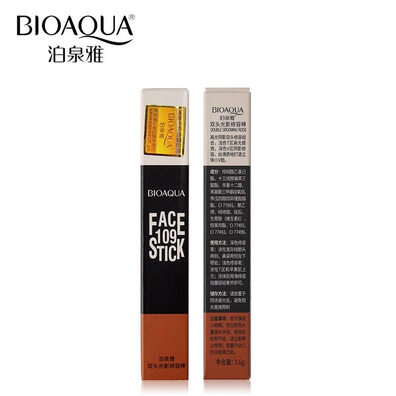 BIOAQUA Märke 2 I 1 Bronzer Highlighter Stick 3D Ansikts Makeup - Smink - Foto 6