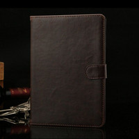 High Quality Leather Case For IPad Mini 2 Retina Smart Magnetic Wallet Flip Cover For IPad