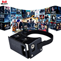 MIJOY DIY PU Leather VR Box Virtual Reality Google Cardboard Headset 360 Panoramic Game Movie VR 3D Private Theater For 4 - 5.5""