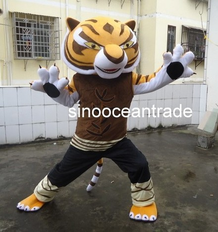 Tigress Tiger Kung Fu Panda Friend Mascot Costume Fancy Dress Outfit EVA & Tigress Tiger Kung Fu Panda Friend Mascot Costume Fancy Dress Outfit ...