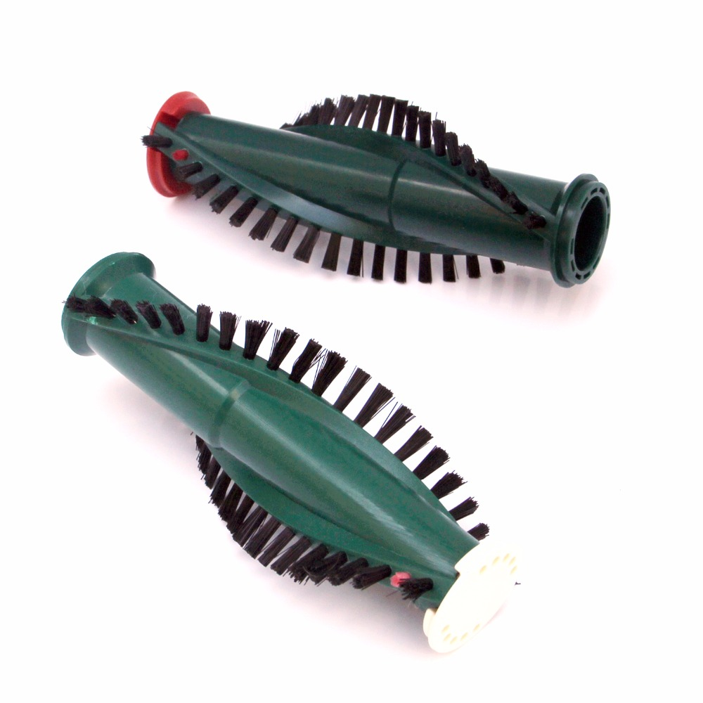 Free shipping 2 pairs of Vacuum Cleaner Brush bar Roller Brushes For Vorwerk EB340 ET340 EB350-in Vacuum Cleaner Parts from Home Appliances