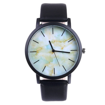 Low price Watch Original Marble Style Lovers Couple Watches Sport Casual Men Women Leather Strap Quartz High quality Reloj