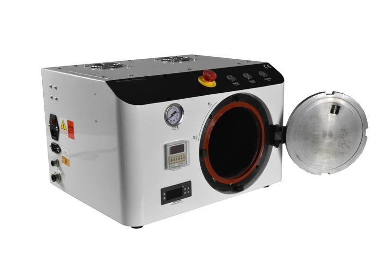 110V/220V LY 965 OCA all in one Bubble Defoaming Machine for 9 inch LCD screens no need air compressor new built in vacuum oca film laminating machine polarizer for lcd film oca laminator 110v or 220v