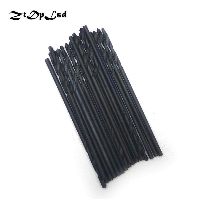 ZtDpLsd 20Pcs 1mm Metal Drilling HSS Twist Drill Bits High Speed Steel Electric Drilliing Power Craft Wood WoodWork Hand Tool