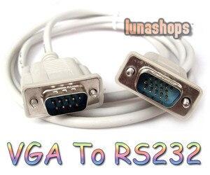 Кабель-адаптер LN002089 RS232 DB9 9-контактный штырьковый штекер в VGA Видео 15-контактный кабель-преобразователь, Кабель-адаптер, свинцовый