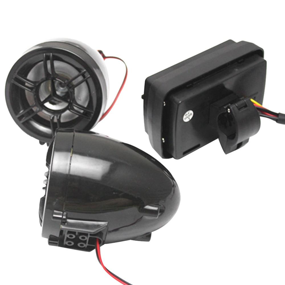 Alarm motocyklowy Wodoodporny system dźwiękowy Radio FM Wzmacniacz - Akcesoria motocyklowe i części - Zdjęcie 3