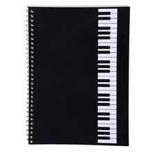 Piano Keyboard Part Musician Composer Manuscript Book Stave Notebook Music Composition Exercise Book (100 pages)