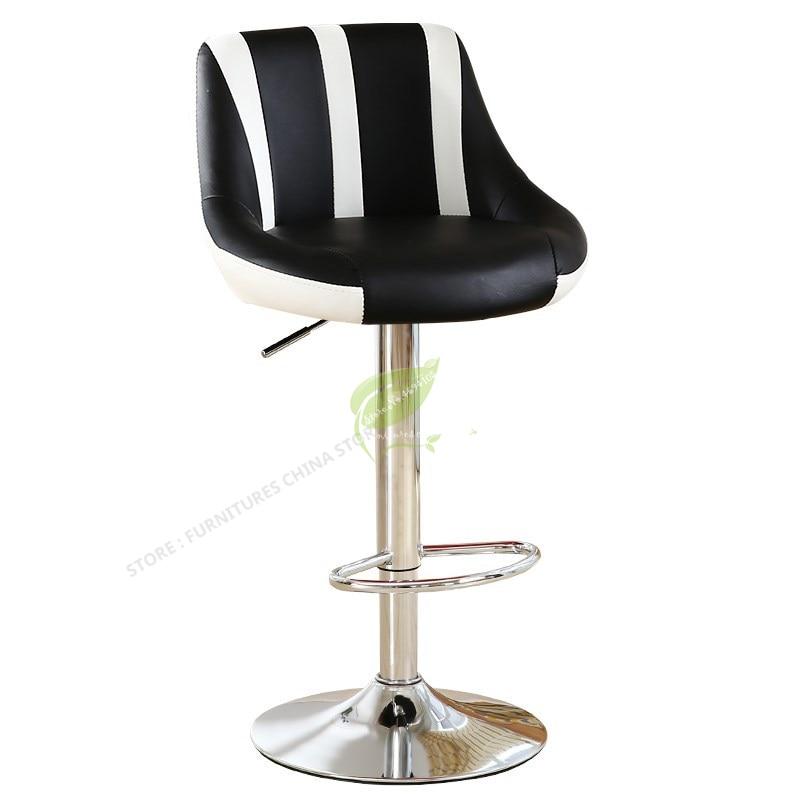 Stool Bar Tabouret De Bar Stool Modern Bar Stool Seat Beauty Salon Furniture Make Up Chair European Style Backrest High Stool