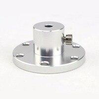 UniHobby 6mm/8mm/10mm/12mm/16mm Motor Shaft Coupling Mecanum Wheel Motor Shaft Hub Omni Wheel Shaft Hubs Aluminum Universal Hubs