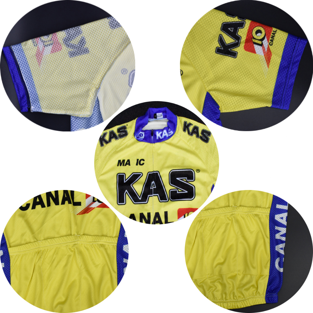 Strange Us 8 39 30 Off Pro Team Old Go Pro Racing Man Retro Kas Yellow Cycling Jersey Short Sleeves Clothing Riding Sweater Maillot Ciclismo Hombre In Frankydiablos Diy Chair Ideas Frankydiabloscom
