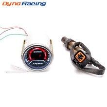 Dynoracing 52mm Car Auto Air Fuel Ratio Gauge Smoke Lens GENUINE Narrowband O2 Oxygen Sensor For 03-10 Hyundai Kia2L