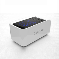 Doolike Universal 4 USB Ports Travel Wall Charger Adapter Smart Charger USB Socket For iPhone8 X Samsung S8