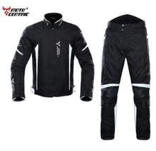 MOTOCENTRIC Waterproof Motorcycle Jacket+Moto Pants Body Armor Riding Racing Motorbike Chaqueta Moto Jacket