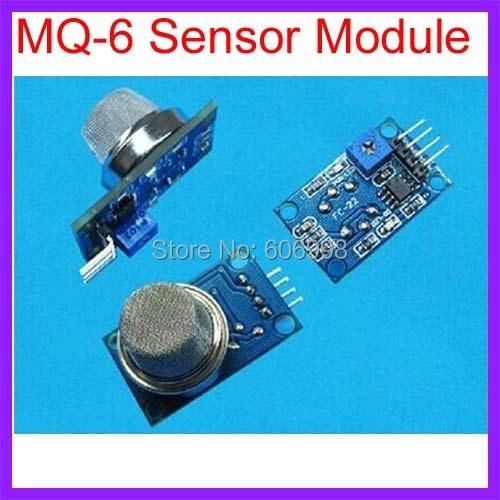 2pcs/lot MQ-6 MQ6 Isobutane Propane Gas sensor Detector for Arduino