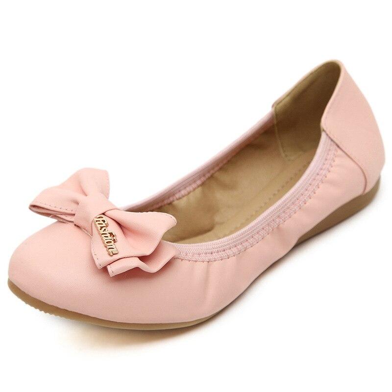 New 2016 font b Women b font Shoes Loafers Slip on Ballet font b women b