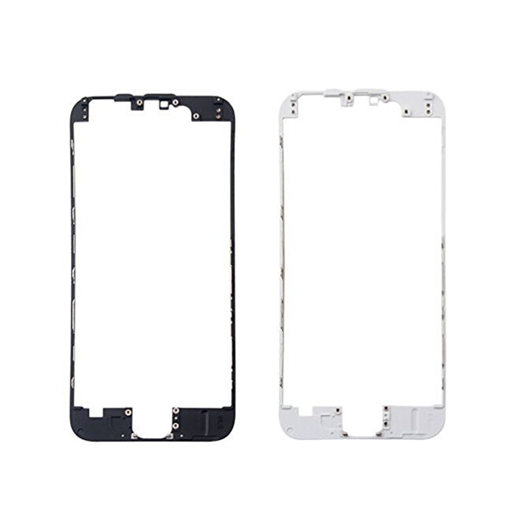 For iPhone 5 5S 5C 6 6S Plus LCD Touch Screen Front Frame Middle Bezel Bracket Holder With Adhesive image