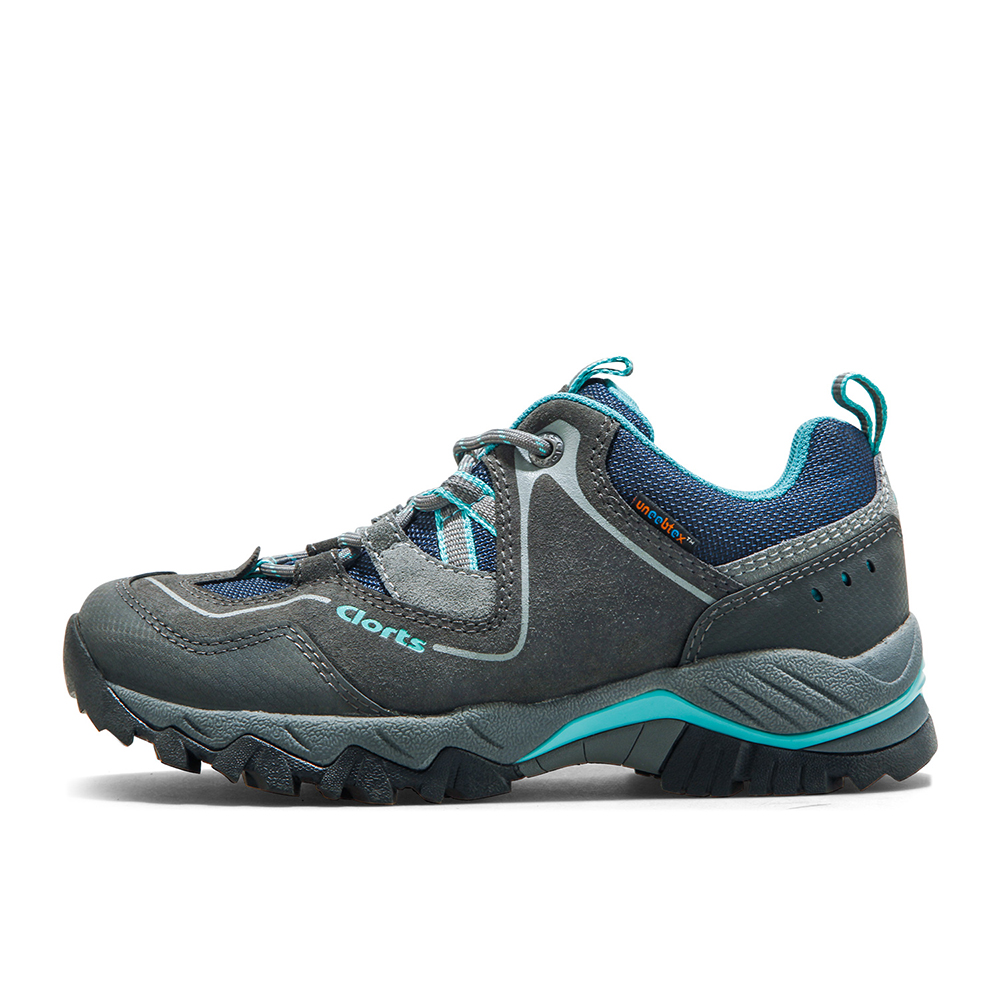 Clorts Women Hiking Shoes Outdoor Trekking Shoes Waterproof Low-top Mountain Shoes Suede Leather Climbing shoes HKL-826E 2016 clorts womens walking shoes waterproof outdoor shoes suede leather for women free shipping 6270622 page 2