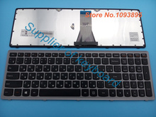 New Russian keyboard for lenovo Ideapad G505S FLEX 15 G500S S500 Z510 laptop Russian keyboard Gray Frame