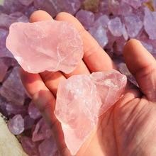 100g Natural powder crystal rose quartz raw stone gem energy