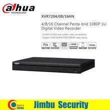 Dahua XVR video recorder 16ch 1080P replace NVR and DVR DHI-XVR7216AN P2P Support HDCVI/ AHD/TVI/CVBS/IP 1U Digital Video Recor