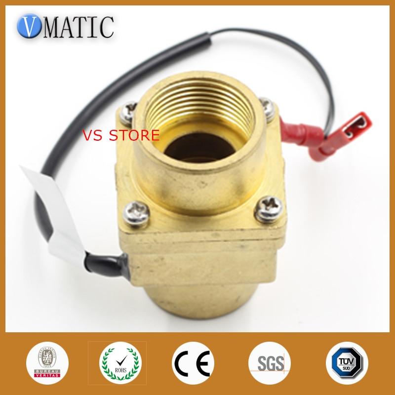Free Shipping Vertical /Horizontal Magnetic Water Sensor Flow Switch
