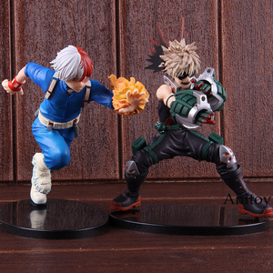 Image 2 - Anime Boku no Hero Academia My Hero Academia Katsuki Bakugo Izuku Middria Shoto Todorki Action Figure Collectibe Model Toy