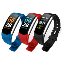 ФОТО uyg smartband blood pressure smart watch fitness bracelet smart wristband for android ios oled touchpad sleep monitor heart rate