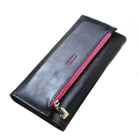 2017 Long Women Wallets With Coin Pocket Design Clutch Wallets High Quality Fashion Zipper Female Purse