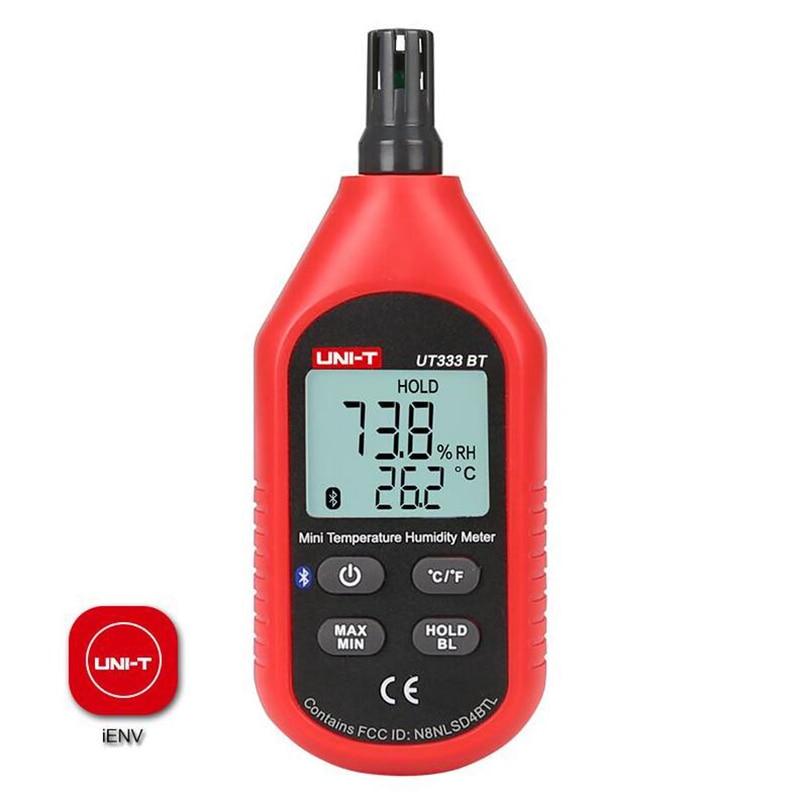 UNI T UT333BT Digital Hygrometer Thermometer Bluetooth Digital LCD Mini Temperature Humidity Meter