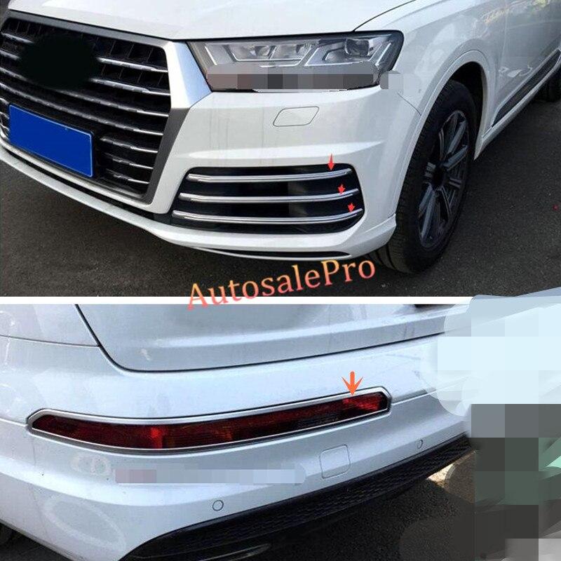 Avtomobilski ABS-krom Chrome sprednji in zadnji meglenki okvirji - Avtodeli