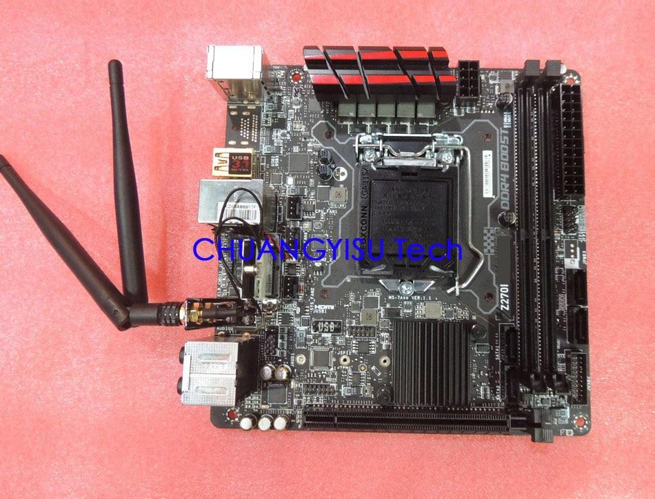 CHUANGYISU Z270 ITX Socket 1151 CORSAIR Gaming-Pro DDR4 for Corsair/Z270i/Gaming-pro/..