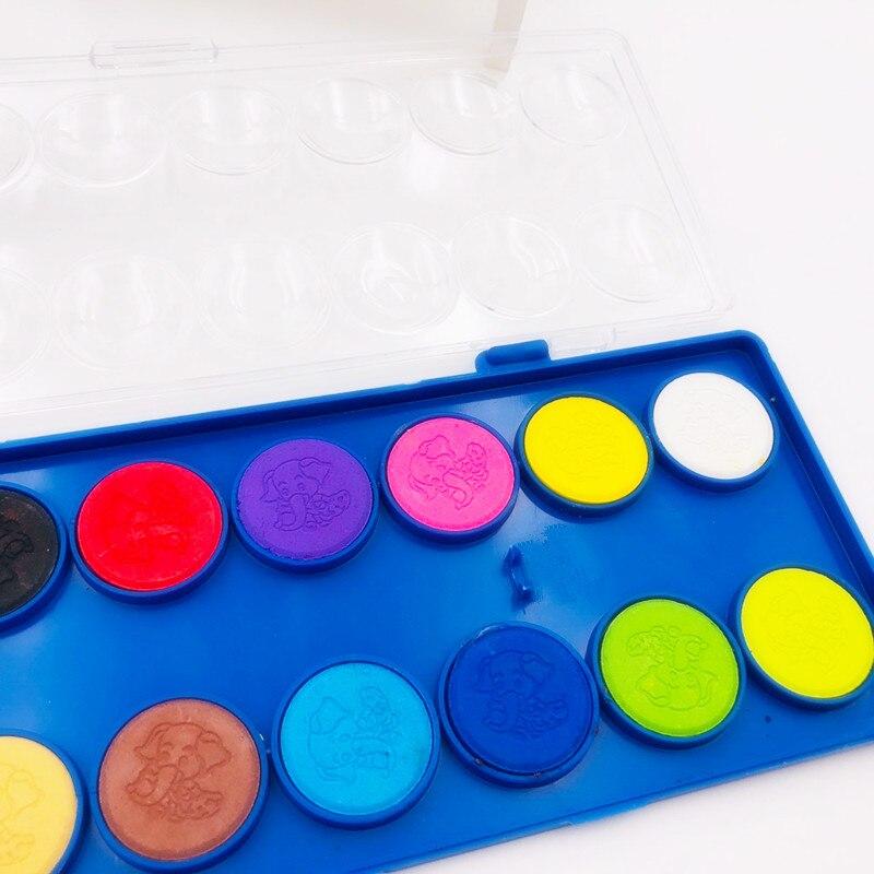 Fontes do Jardim de Infância Crayon Escova Artista Kit da