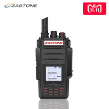 Zastone A19 Walkie Talkie Professional CB Radio ZASTONE A19 Transceiver 10W VHF&UHF Handheld A19 For Hunting Radio telsiz(China)
