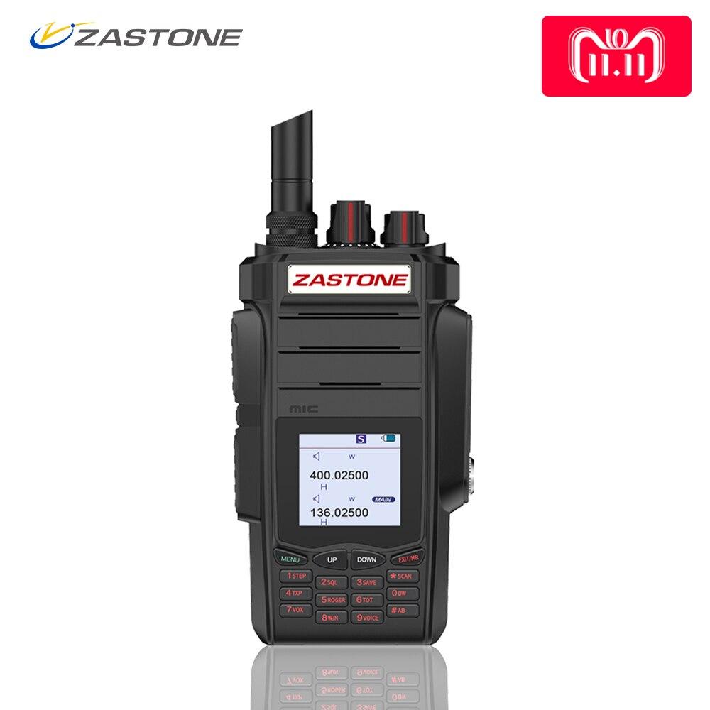 Zastone zt-A19 Walkie Talkie Professionale CB Radio ZASTONE ZT-A19 Ricetrasmettitore 10 w VHF e UHF Palmare A19 Per La Caccia Radio telsiz