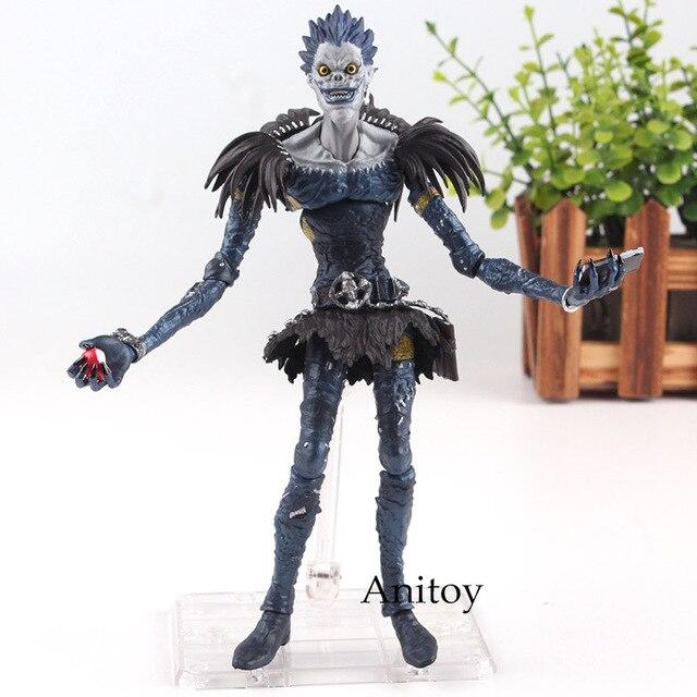 Us 21 55 20 Off Aliexpress Com Buy Anime Death Note Ryuk Death Note Figure Deathnote Figutto Item No Fg 009 Ryuk Figure Figurine Toy Doll 19cm