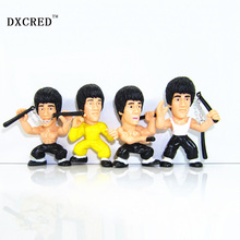 Kung Fu Master Bruce Lee Q Versions PVC Action Figure Collectors Edition Toys Model toys Christmas gift
