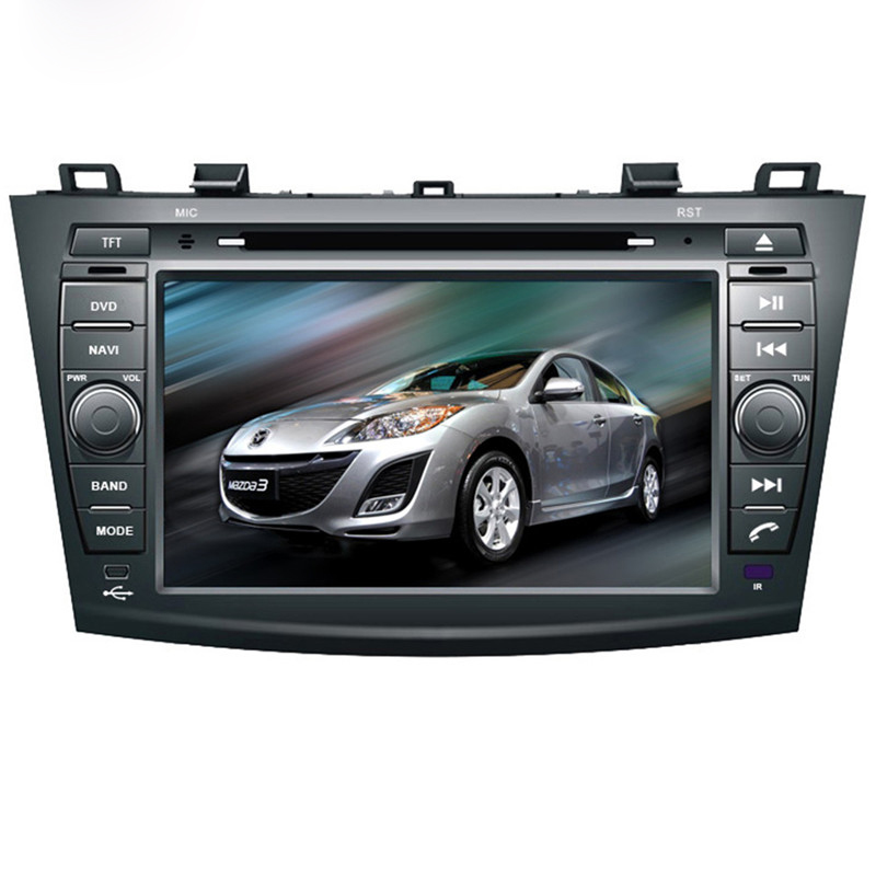 Ectwodvd Wince 6.0 Car Multimedia Player For Mazda 3 2010 2011 2012 2013 2014 2015 2016 Car DVD Video GPS Navigation Radio цена